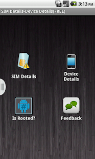 SIM Details - Device Details - screenshot thumbnail