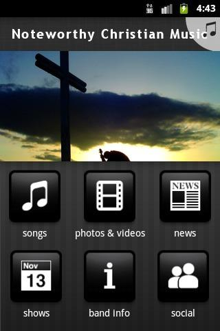 Noteworthy Christian Music - screenshot
