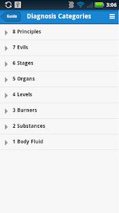 TCM Diagnosis Guide 醫療 App-癮科技App
