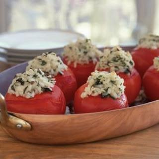 Risotto-Stuffed Tomatoes