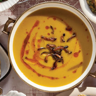 Winter Squash and Apple Soup