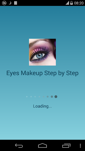 Eyes Makeup Tutorial Screenshot