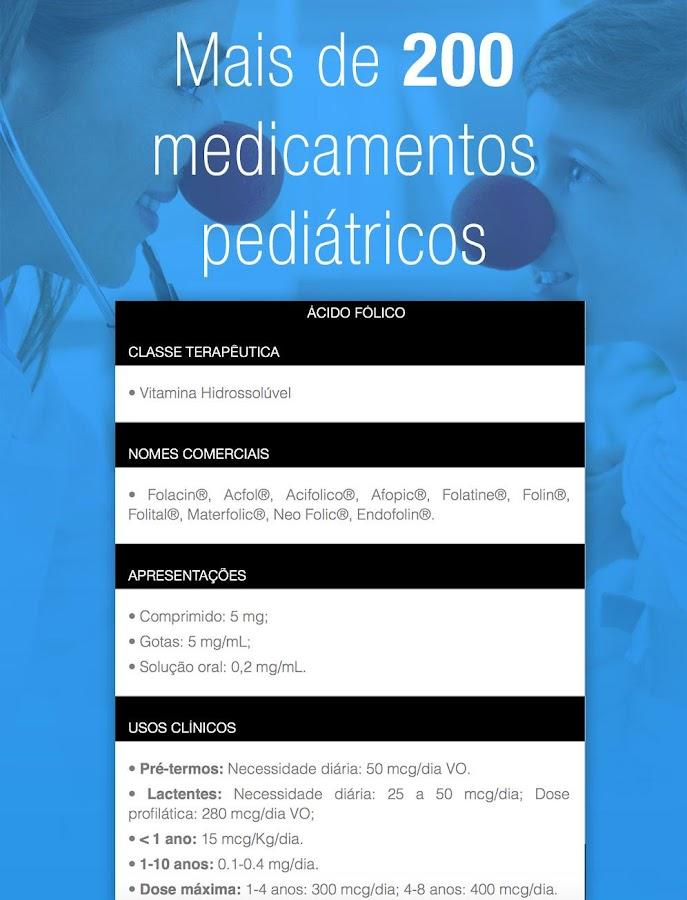 iPediatria, Pediatria Infantil- screenshot