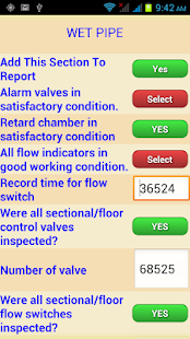 Fire Sprinkler Inspections - screenshot thumbnail