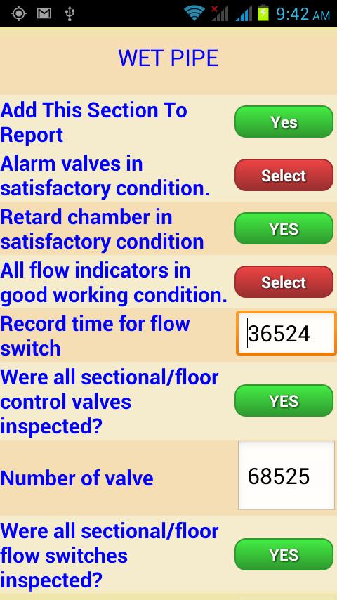 Fire Sprinkler Inspections - screenshot