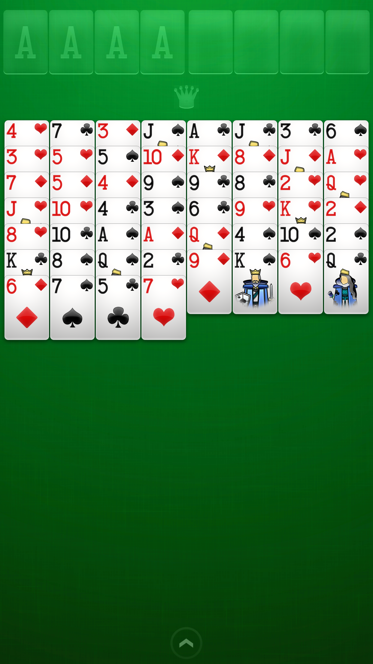 FreeCell Solitaire screenshot #1