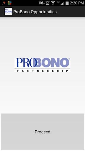 Pro Bono Partnership Vol Opps