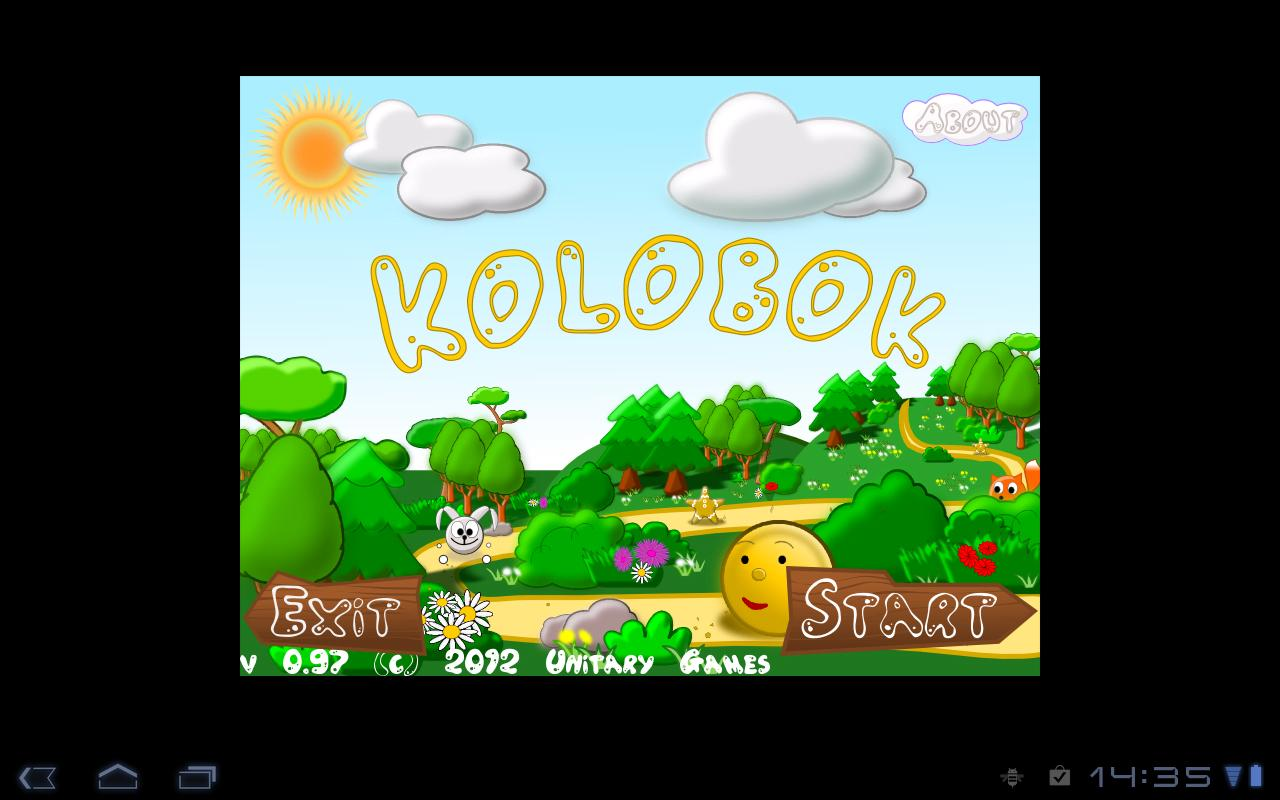 Kolobok- screenshot