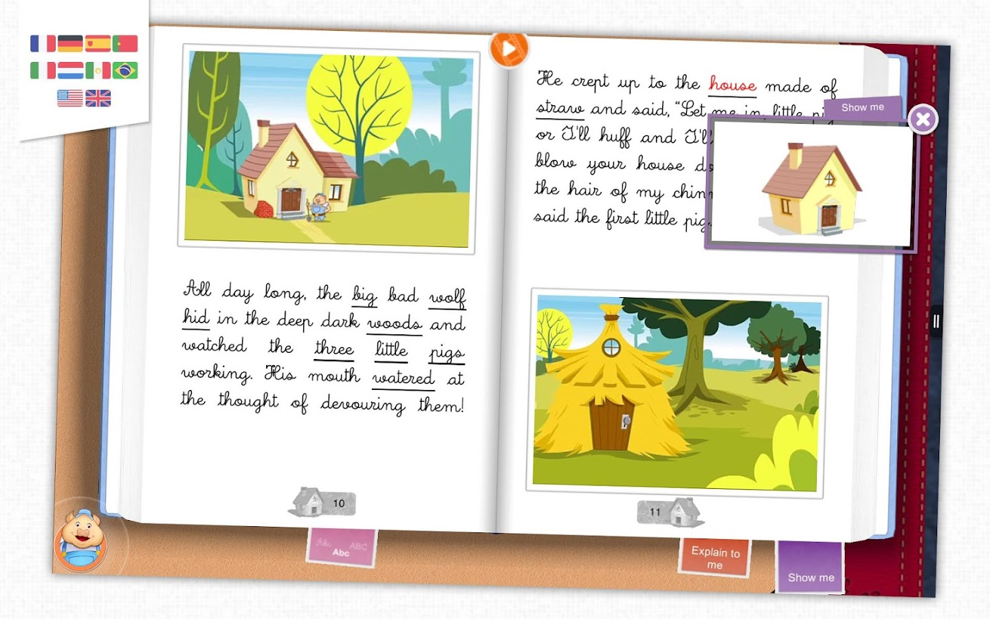 The 3 Little Pigs - Storybook- screenshot