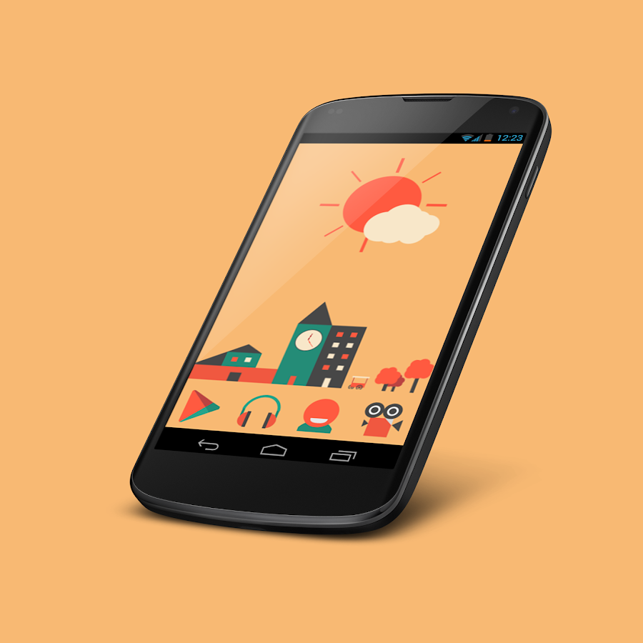 2Flat Widgets - screenshot