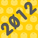 One Page Year 2012 Calendar icon