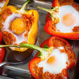 Breakfast Stuffed Peppers