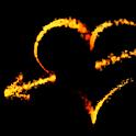 Fire Love Live Wallpaper