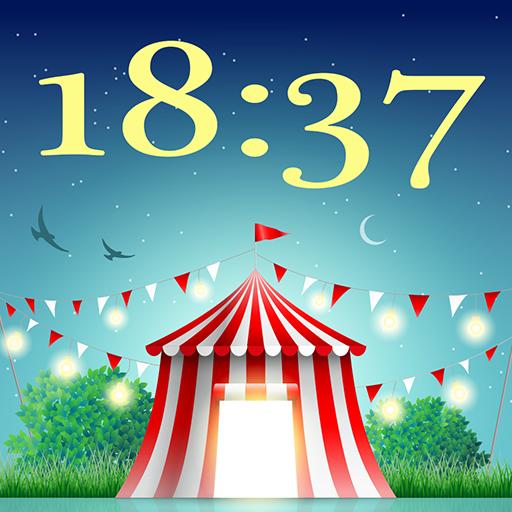 新星一天晚上時鐘壁紙 個人化 App LOGO-APP試玩