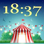 Nova Day Night Clock Wallpaper