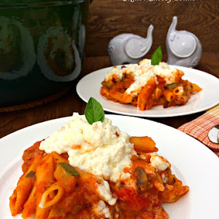 Skillet Cheesy Penne