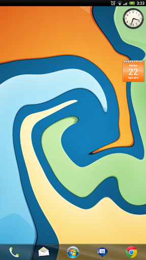 Windows 7的ADW主題+構件!