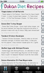 Free DukanDiet Recipes APK for Android