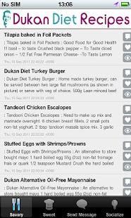 DukanDiet Recipes- screenshot thumbnail