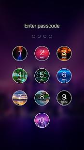5 Photo Keypad Lock Screen App screenshot