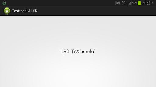Testmodul LED
