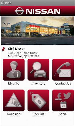 Nissan Dealer App