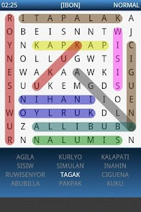 Pinoy Word Search - screenshot thumbnail
