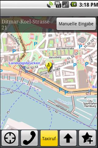 Taxi-Annaberg Button- screenshot