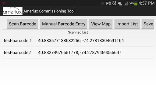 Amerlux Commissioning Tool