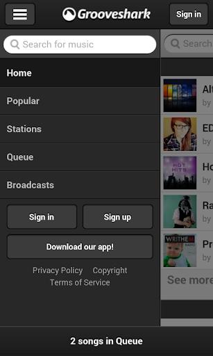 【免費音樂App】GrooveShark Lite-APP點子