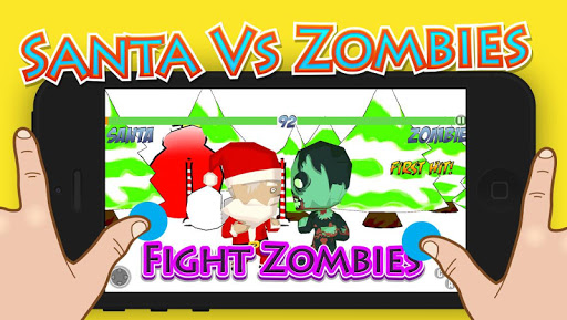 Santa Vs Zombies Fighting 3D