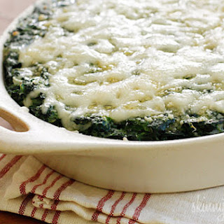 Makeover Spinach Gratin