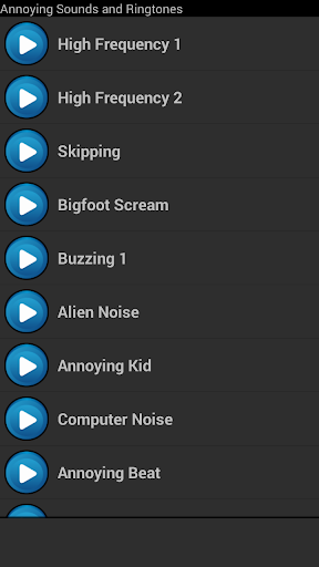 Annoying Sounds and Ringtones