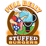 Logo for Full Belly Stuffed Burgers