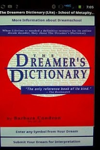 The Dreamers Dictionary (Lite) - screenshot thumbnail