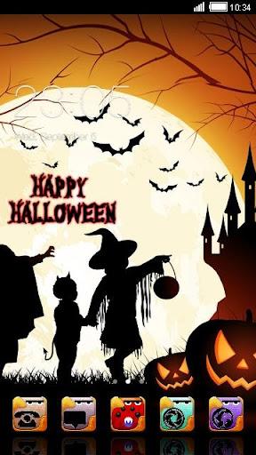 Moon of Halloween Night Theme