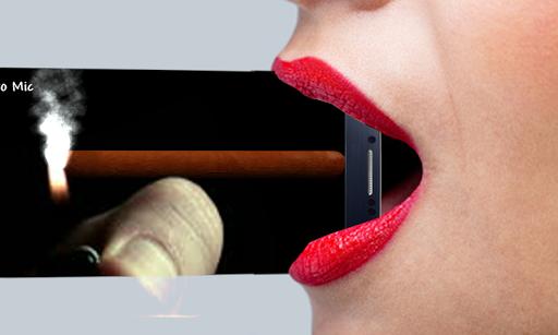 Virtual Cigar Smoke Simulator