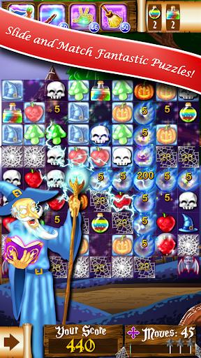 無料ゲーム:魔女のパズル‐史上最高のマッチ3ゲーム