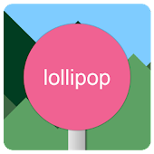 Lollipop Go Launcher Ex Theme