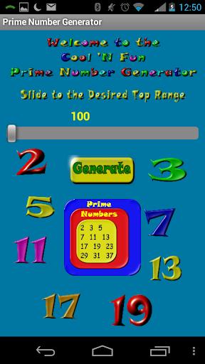 Prime Number Generator