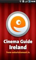 Screenshot of Cinema Guide Ireland