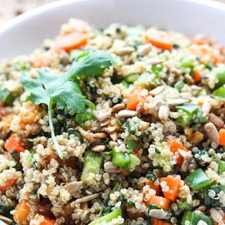 Chopped Vegetable Quinoa Salad