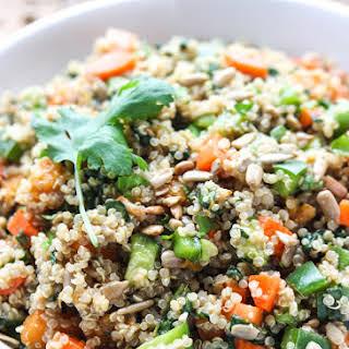 Chopped Vegetable Quinoa Salad.
