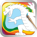 My Coloring Dragon - Fun Game icon