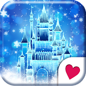 Cute wallpaper★Castle of snow