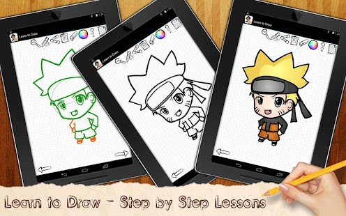 Game Drawing Lessons Chibi Anime APK for Windows Phone