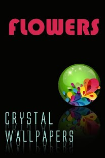 Crystal Flower Wallpapers - screenshot thumbnail