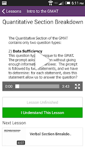 Magoosh GMAT Prep - screenshot thumbnail