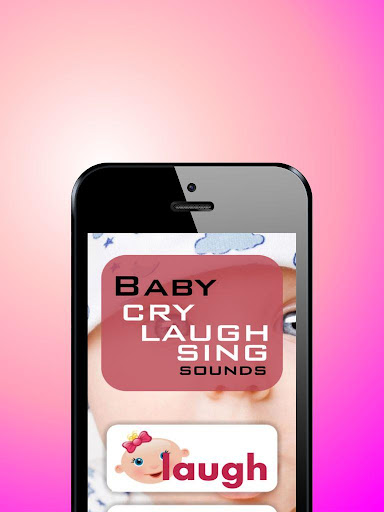 Baby cry laugh and sing sounds