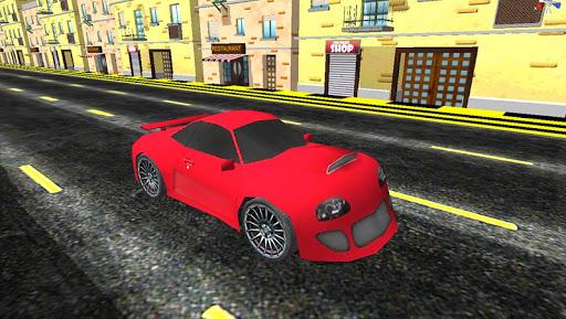 Rocket Speed Car Driving